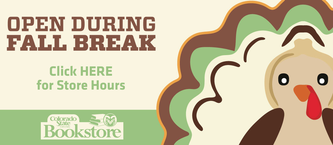 Open During Fall Break - Click Here for Store Hours