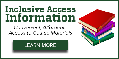 Inclusive Access - Convenient, affordable access to course materials.