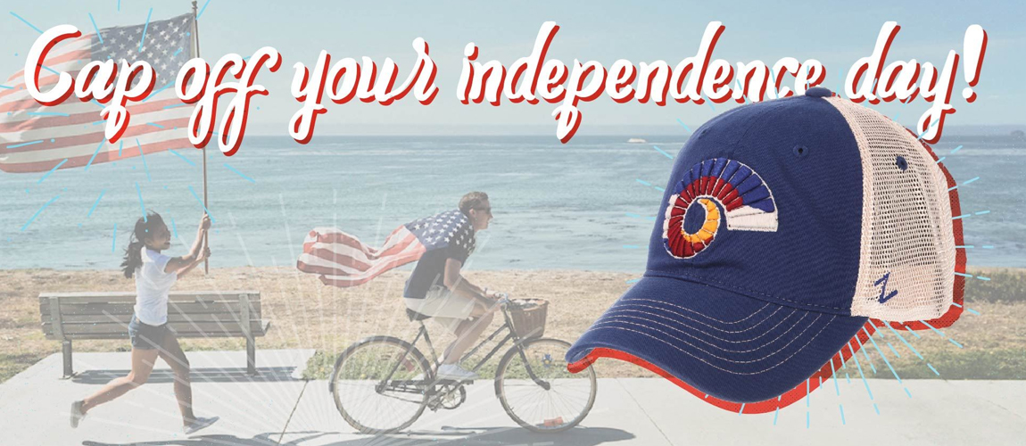 Cap Off Your Independence Day!