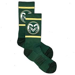 Shop CSU Ram Socks at CSU Bookstore