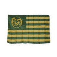 Colorado State University CSU Stripe Flag