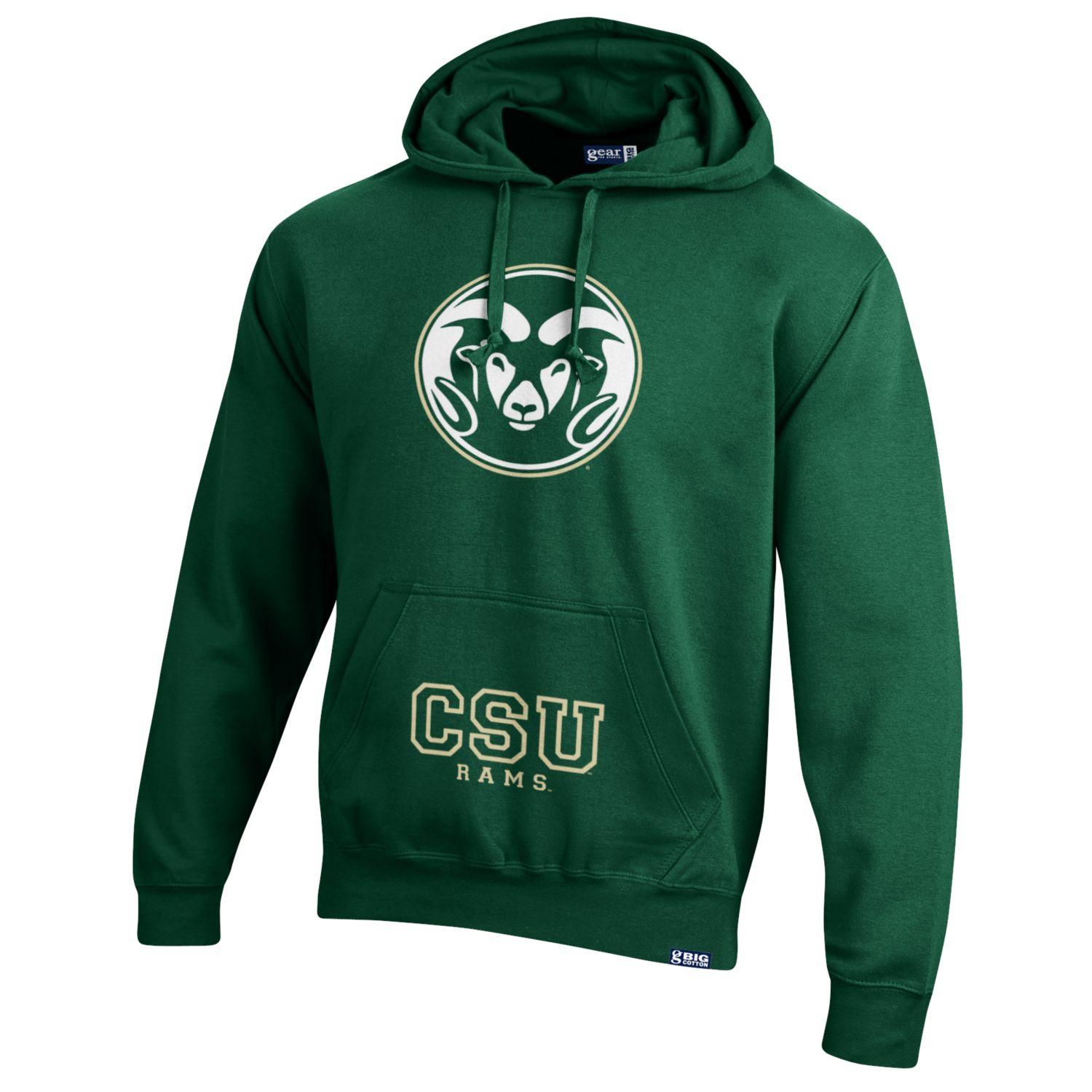 Green Ram Head Colorado state University Gear Hood