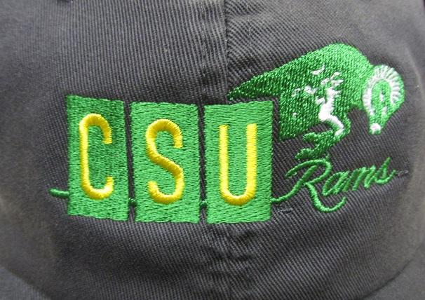 1966 Csu Rams Colorado Stae University Vintage Hat Csu