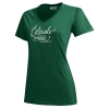 Green Mia V-Neck Colorado State University Gear Tee