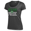 Charcoal Colorado State University Mia Short Sleeve Gear Tee