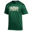 Green Arched Colorado State University Gear Tee