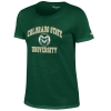 Dark Green Colorado State University Champion Tee
