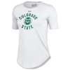 White Under Armour Colorado State University Rams Tee