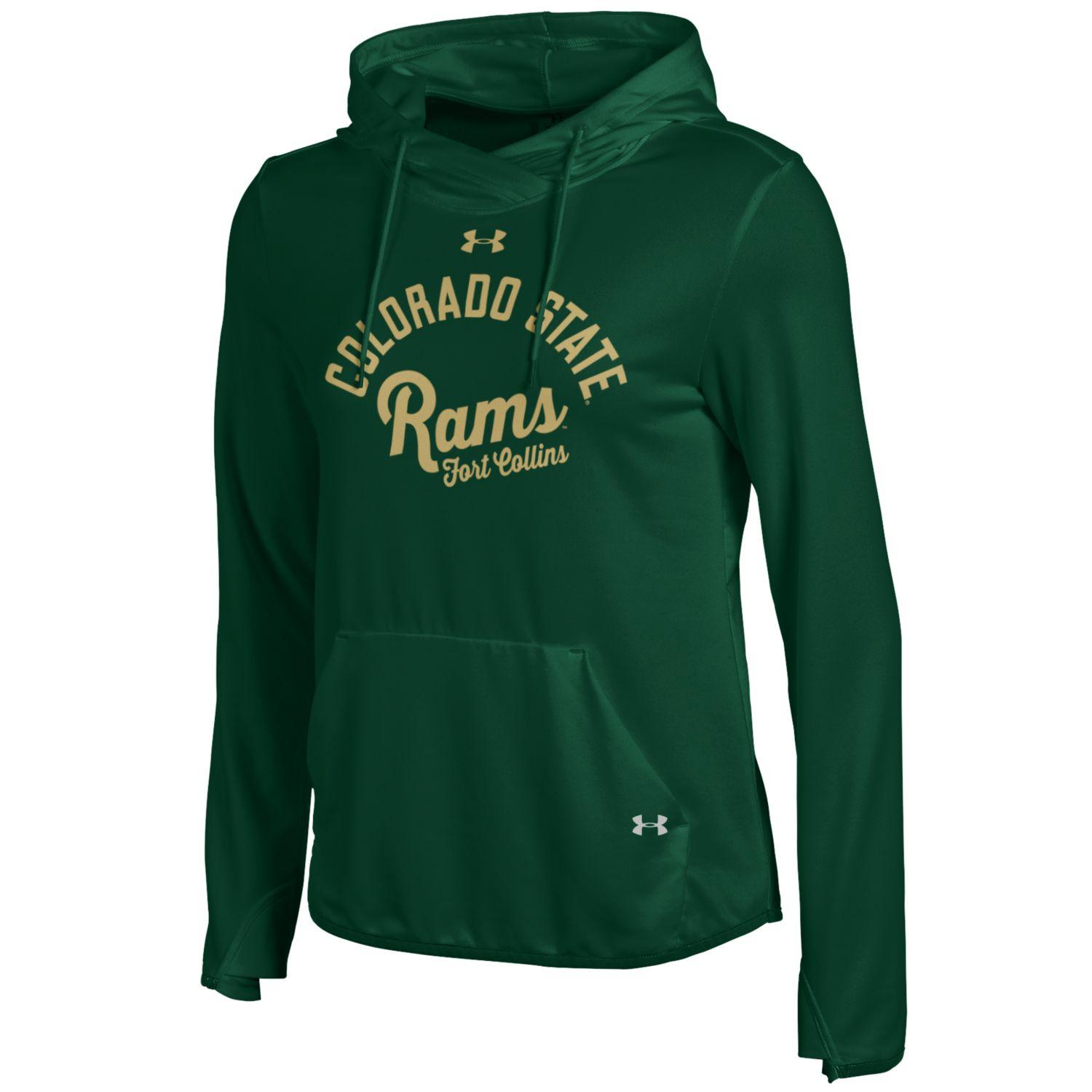 Forest Green Colorado State Rams Under Armour Pullover