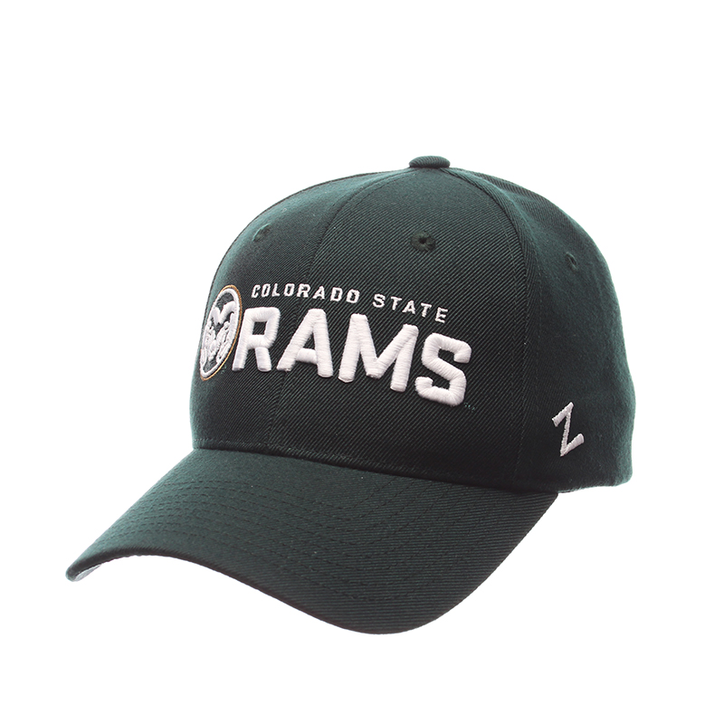 Green Colorado State University Rams Zephyr Hat