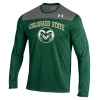 Forest Green Long Sleeve Colorado State Under Armour Tee