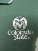 Women's Dark Green Colorado State Antigua Polo thumbnail