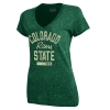 Green Colorado State University Under Armour Legacy V-Neck
