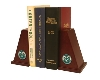 Colorado State University Spirit Brass Bookends