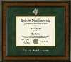 Colorado State University Presidential Diploma Frame