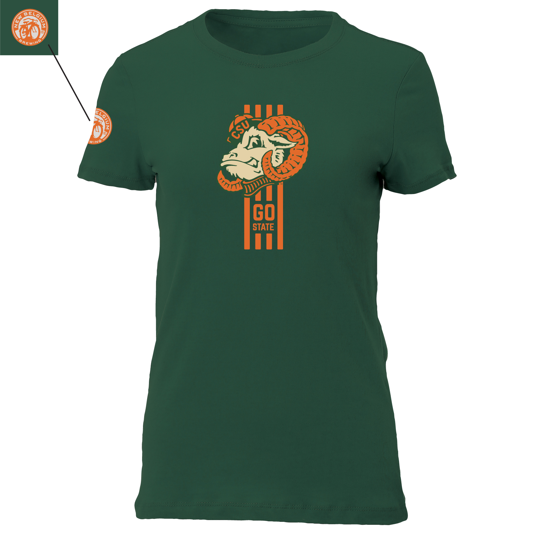 Old Aggie Superior Lager Colorado State Women's Tee