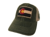 Green Colorado State Flag Legacy Trucker Hat