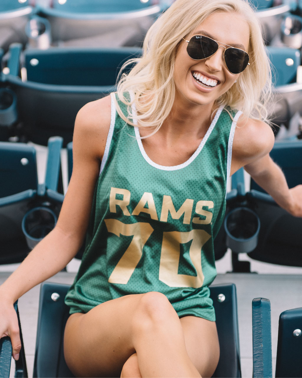 Green Women's Colorado State Tank Top Jersey