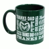 Green Colorado State University Spirit® Thank You Dad Mug
