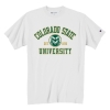 Image for Champion® Basic Colorado State University Tee White