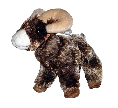 Image For Douglas® Colorado State University Stuffed Ram Toy