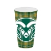 Image for Colorado State University Tartan Glass