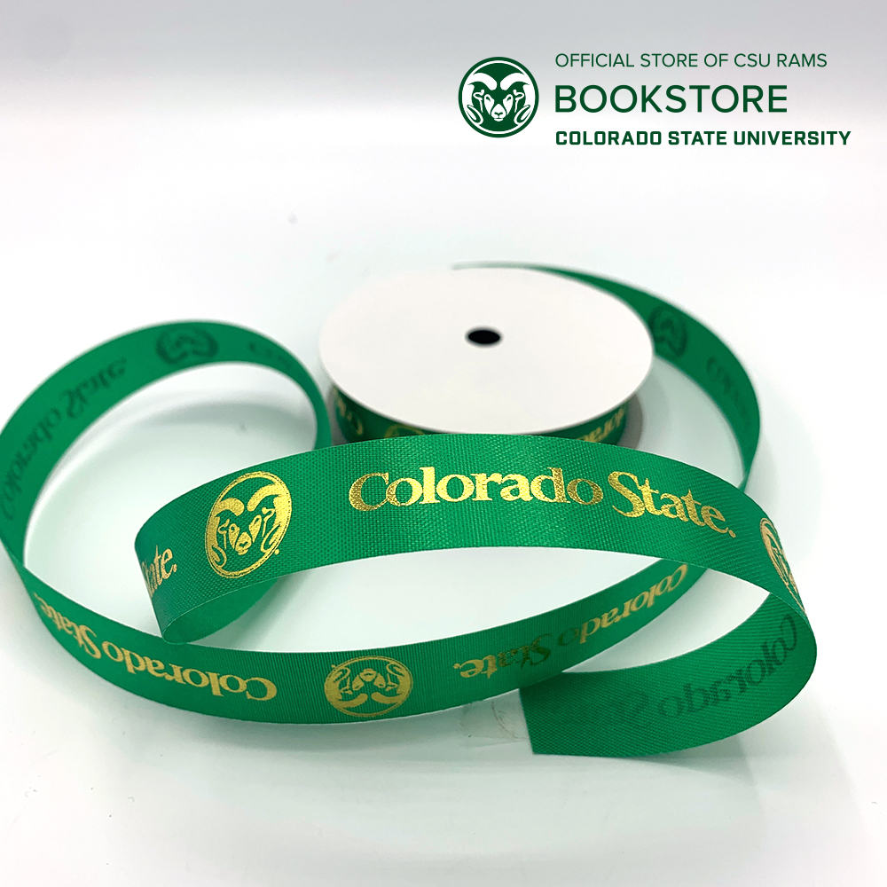 "Image For CSU Custom Ribbon (7/8"" x 36')"