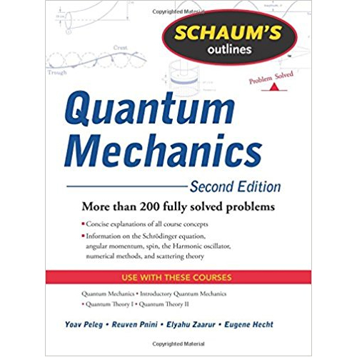 Image For Schaum's Quantum Mechanics