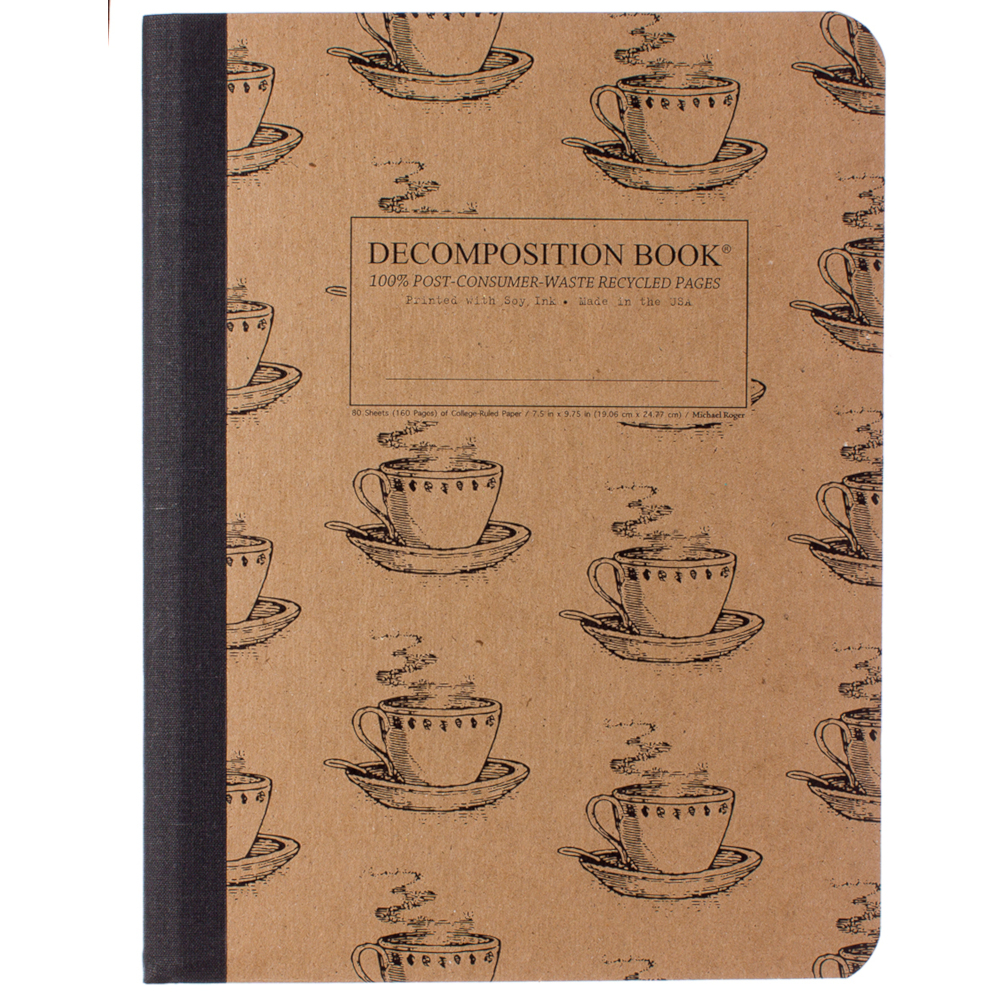 Cover Image For Coffee Cup Decomposition Book