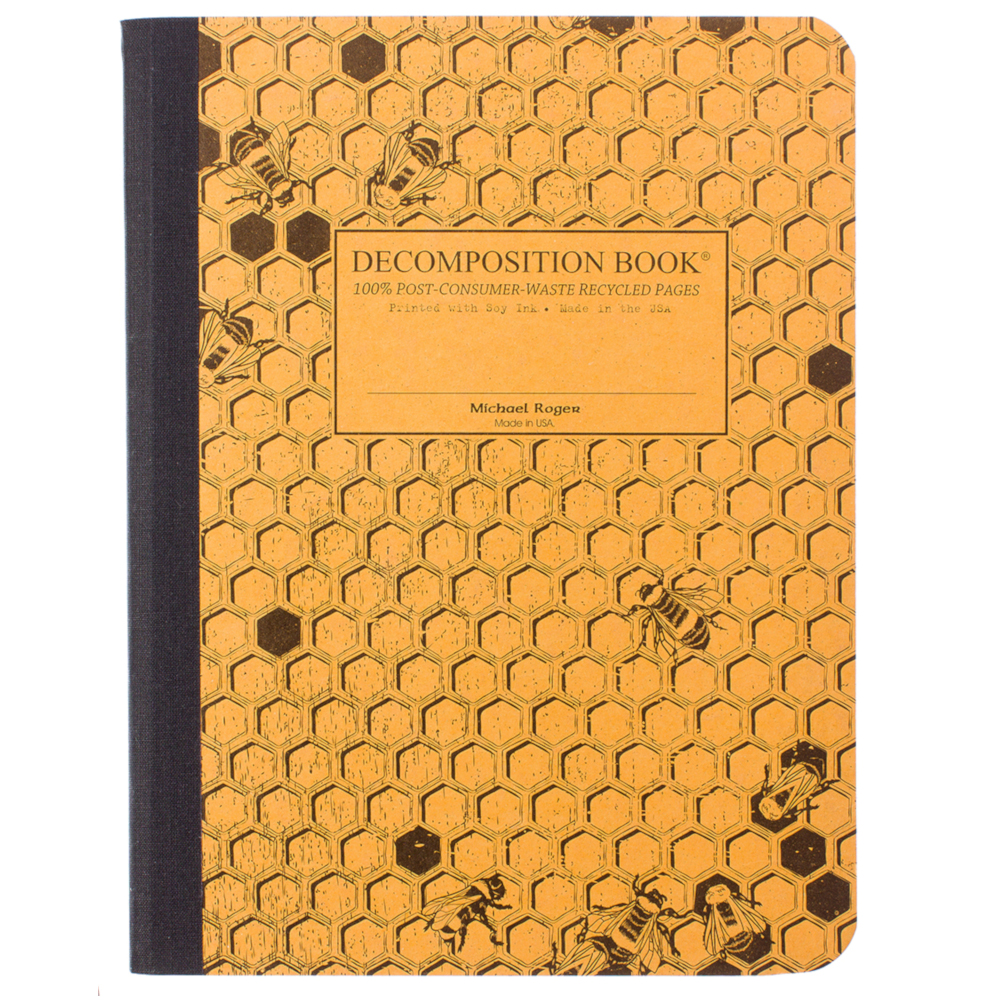 Image For Honeycomb Decomposition Book Lined Pages