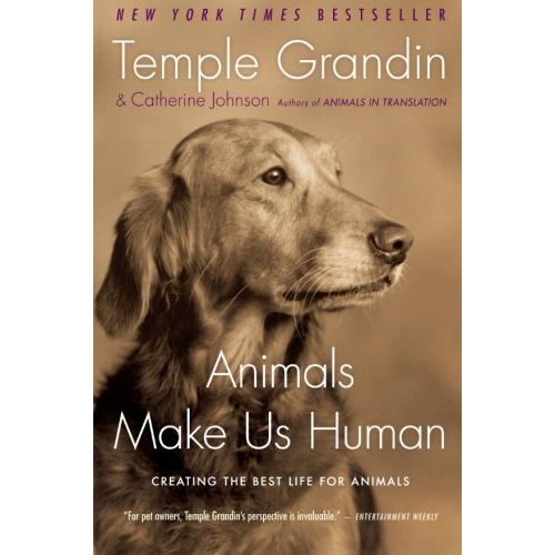Cover Image For Animals Make Us Human by Temple Grandin