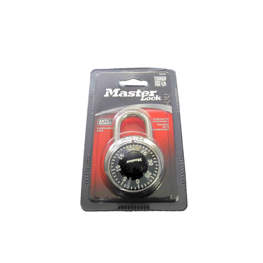 Image For Master Lock Black Combo Lock