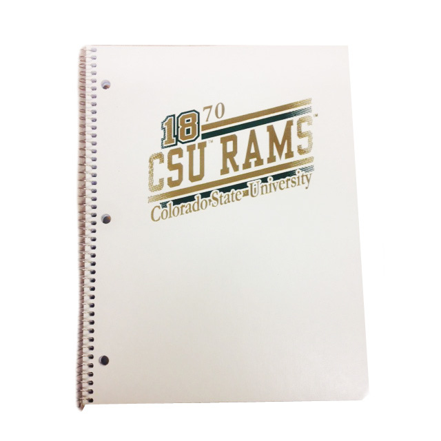 Image For CSU Rams 1 Subject Spiral
