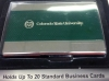 Image for Laser Engraved Colorado State University Card Holder