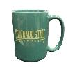 Image for Dark Green Colorado State University Ram Head Mug