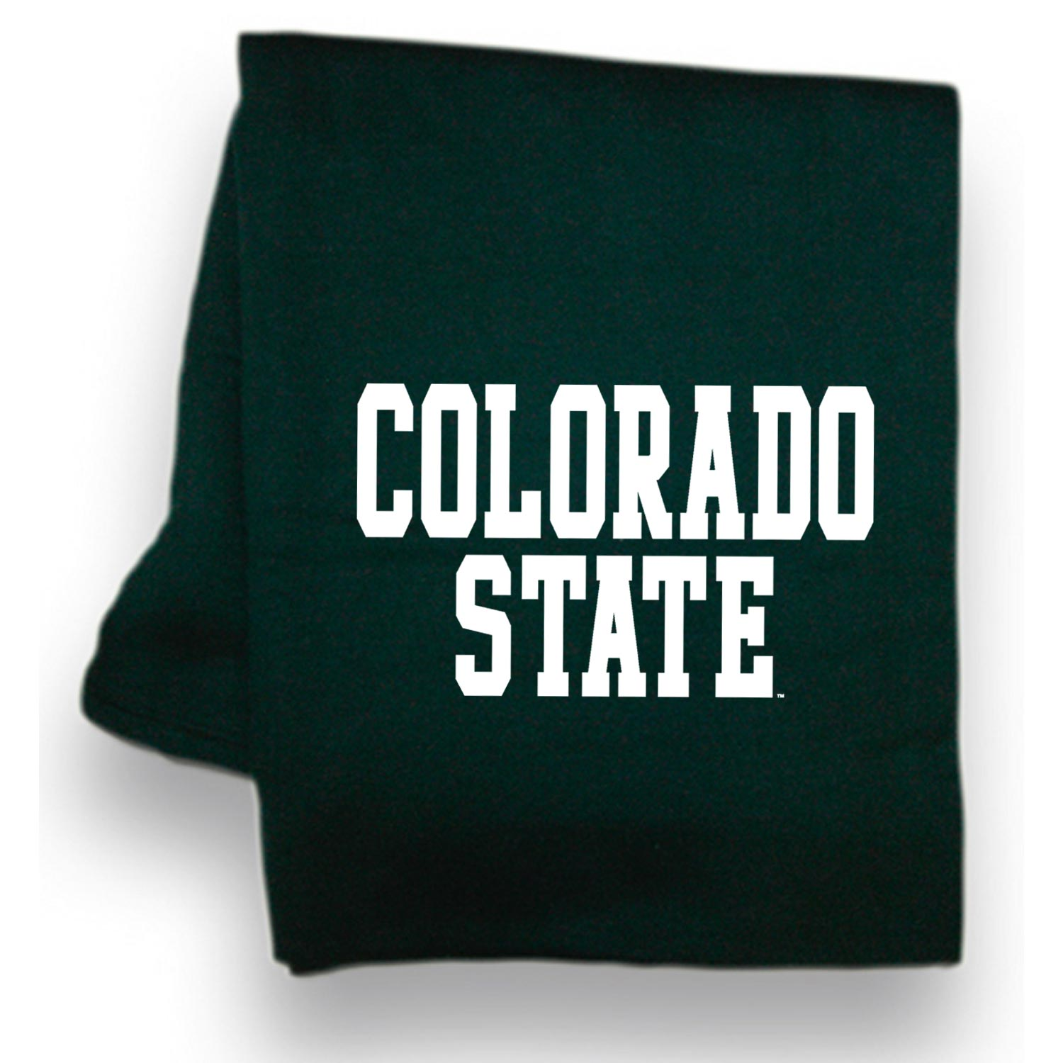 Cover Image For Green Colorado State Pro Weave Sweatshirt Blanket