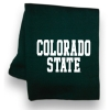 Green Colorado State Pro Weave Blanket Image