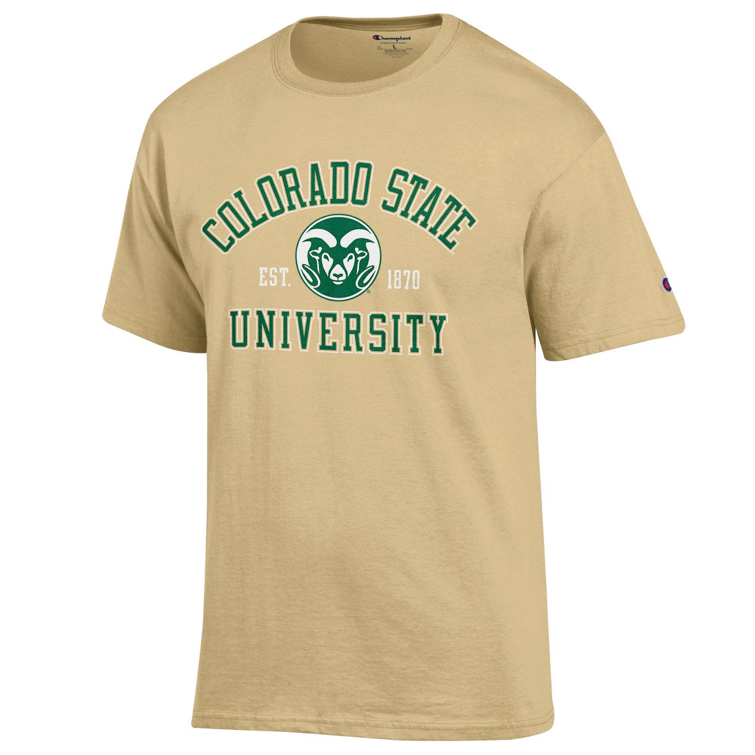 Image For Vegas Gold Colorado State University Champion Tee
