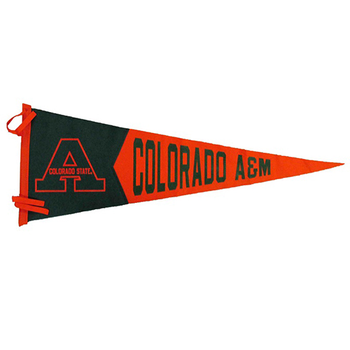Image For Colorado State University Colorado A&M Pennant