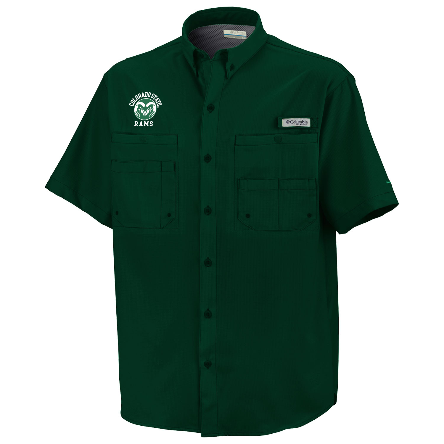 Image For Green Colorado State University Omni Shade Columbia® Shirt