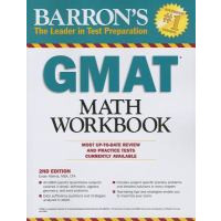 Cover Image For Barron's GMAT Math Workbook