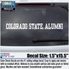 Cover Image for Colorado State University Alumni License Plate Frame