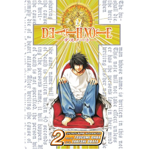 Image For Death Note V2 by Tsugumi Ohba
