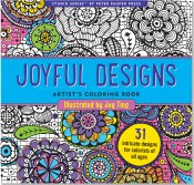Cover Image For Joyful Designs by Peter Pauper Press
