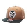 Image for Khaki and Green Colorado State University Zephyr Snapback