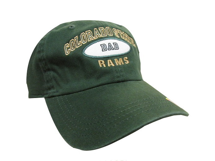 Image For Dark Green Colorado State University Dad AHEAD Hat