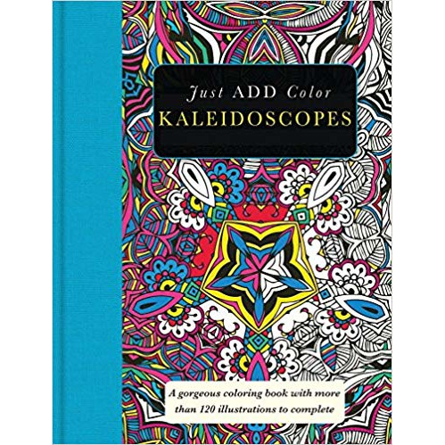 Cover Image For Kaleidoscopes Coloring Book