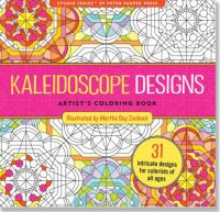 Image For Kaleidoscope Designs Coloring Book