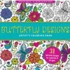 Image for Butterfly Designs Coloring Book
