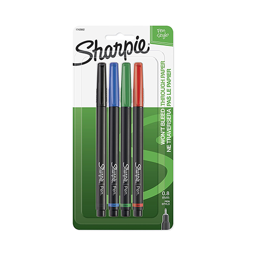 Cover Image For Sharpie 4-piece Pen Set